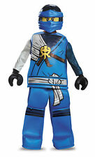Prestige Jay Ninjago Lego Boys Child Costume NEW Masters of Spinjitzu