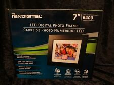New - PanDigital PAN7000DW 7 Inch LED Digital Photo Frame & Remote 6400 Images