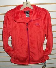 THE NORTH FACE WOMENS OSITO 2 FLEECE JACKET-#C782- MEDIUM- RAMBUTAN PINK