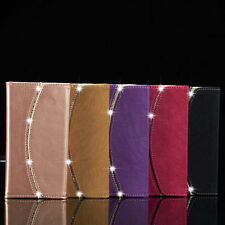 Diamond Crystal Magnetic Leather Wallet Case Cover For Apple iPhone 6S 7 7 Plus