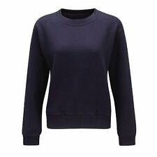 Fastrack LSWS280 Atilian XL Ladies Sweat Shirt - Navy