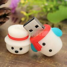 Christmas Snowman USB 2.0 Flash Memory Stick Pen Drive Storage U Disk