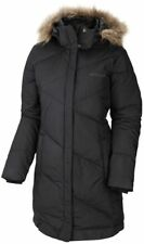 COLUMBIA WOMENS XS-M-L-XL LONG FAUX DOWN INSULATED WINTER JACKET/COAT