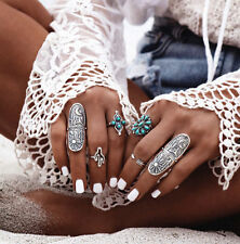 Hot Vintage Boho New Retro Punk Finger Rings Style Geometry Womens Ring