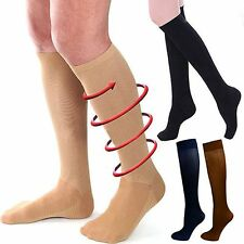 Relief Compression Knee Stockings Leg Socks Relief Pain Support Socks 30-40 mmhg