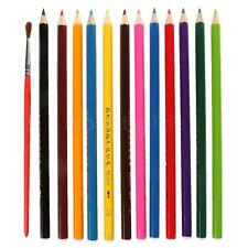 12 or 24pcs/Set Water-Soluble Colored Pencil Colored Pencils Coloring Pencils