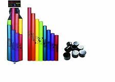 8-Pack C Major Diatonic Pitch Sound Scale Set w/ Octavator Caps by Boomwhackers