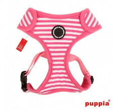 Puppia Adjustable Neck & Girth - Dog Harness - FRONTIER PINK - S or L