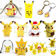 Pokemon Pikachu Plush Kids Children Stuffed Soft Toys Doll Pendant Action Figure