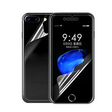 Front+Back Full Protective Clear Screen Protector Film For iPhone 7 7 Plus New