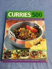 Curries 500 recipe book Good condition