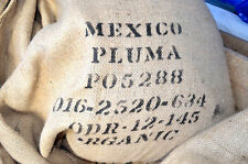 3 - 22 lb Green Coffee Beans Mexico Pluma  Certified ORGANIC DECAF Water Process