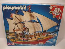 Brand New Sealed Playmobil Retired Large Pirate Ship #4290