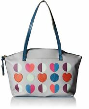 BRAND NEW RELIC by FOSSIL CARAWAY MED TOTE PINK MULTI /GRAY-BLUE/GREEN