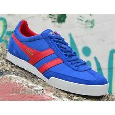 Shoes Gola Super Harrier CMA218EX208 Man Sneakers Suede Nylon Reflex Blue Red