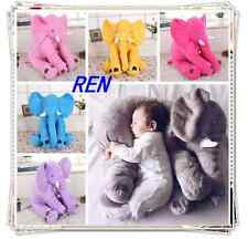 Fashion Baby Long Nose Elephant Doll Soft Plush Stuff Toys Lumbar Cushion Pillow