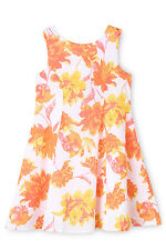 NEW Origami Watercolour Floral Skater Sun Dress 3-8 Assorted