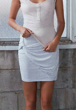 NEW THE FIFTH LABEL TIMELAPSE SKIRT LIGHT GREY SIZES XXS TO XL
