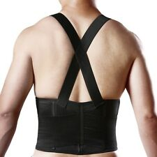 Lumbar Support Suspenders, Great Back Brace, Weight Lifting Belt, Work Safety US