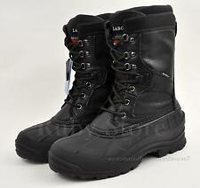 """LABO Men's Black 10"""" Leather Winter Snow Hunting Boots Shoes Waterproof 108 A"""