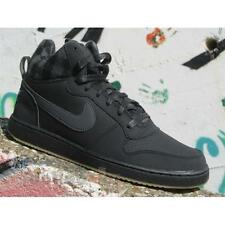 Shoes Nike Court Borough Mid Prem 844884 002 Men Sneakers Black Light Brown