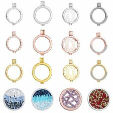 New Silver/Gold Plated Locket Holder Fit For My Coin Necklace fit 33mm Coin Gift