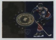 1998-99 SPx Finite Radiance #95 Peter Forsberg Colorado Avalanche Hockey Card