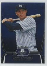 2012 Bowman Platinum Prospects Blue Refractor #BPP38 Gary Sanchez Baseball Card