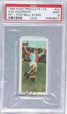 1958 Kane International Football Stars 24 Ove Anderson PSA 9 Denmark Soccer Card
