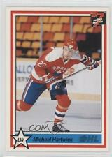 1990-91 7th Inning Sketch OHL #210 Michael Hartwick Rookie Hockey Card