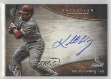 2014 Bowman Inception Rookie Autographs #RA-KW Kolten Wong Auto Baseball Card