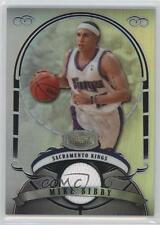 2007 Bowman Sterling Refractors #MB Mike Bibby Sacramento Kings Basketball Card