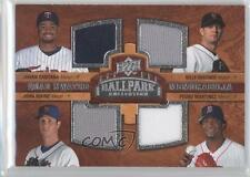 2008 210 Johan Santana Billy Wagner John Maine Pedro Martinez New York Mets Card