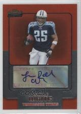 2006 Topps Finest #156 LenDale White Tennessee Titans Auto RC Football Card