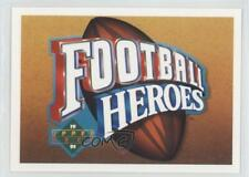 1991 Upper Deck Football Heroes #N/A Joe Montana San Francisco 49ers Card