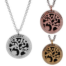 Essential Oils Diffuser Locket Pendant Pads Aromatherapy Necklace Diffuser