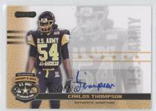 2010 Razor US Army All-American Bowl Autographs BA-CT2 Carlos Thompson U.S. Auto