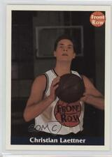 1992 Front Row Promo N/A.3 Christian Laettner (Posing With Ball) Basketball Card
