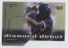 2000 Black Diamond Reciprocal Cut #97 Alfonso Soriano New York Yankees Card