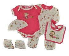 Take Me Home Newborn Girls I Love Hugs 5pc Layette Set Size 3/6M 6/9M $22