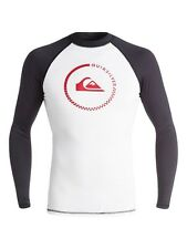 Quiksilver Mens Lock Up Long Sleeve Rashguard EQYWR03012