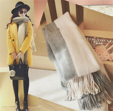 Winter Lady Women Long Style Warm Soft Scarf Sided Tassel Soft Shawl
