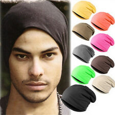 Winter Unisex Women Men Warm Hat Candy Colors Hip-Hop Hats Head Cap