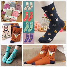 1 Pair Fashion Women Lovely Cute Cat Socks Animal Cartoon Cotton Socks Colorful