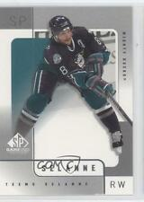 2000 SP Game Used Edition 2 Teemu Selanne Anaheim Ducks (Mighty of Anaheim) Card