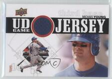 2010 Upper Deck UD Game Jersey UDGJ-MY Michael Young Texas Rangers Baseball Card