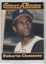 1990 CMC Collect-A-Books #ROCL Roberto Clemente Pittsburgh Pirates Baseball Card