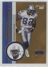 2001 Pacific Invincible Premiere Date #79 Germane Crowell Detroit Lions Card