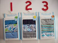 Handcraft Underwear Underpants Boys 3 Pair Briefs Select 2T-3T 5Toddler NIB