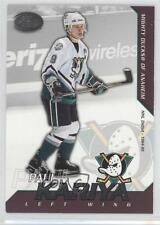 2002 Pacific Calder Silver 30 Paul Kariya Anaheim Ducks (Mighty of Anaheim) Card